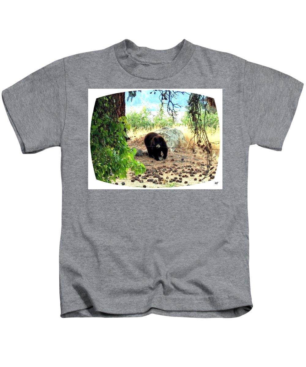 Bear Kids T-Shirt featuring the photograph Mother Bear by Will Borden