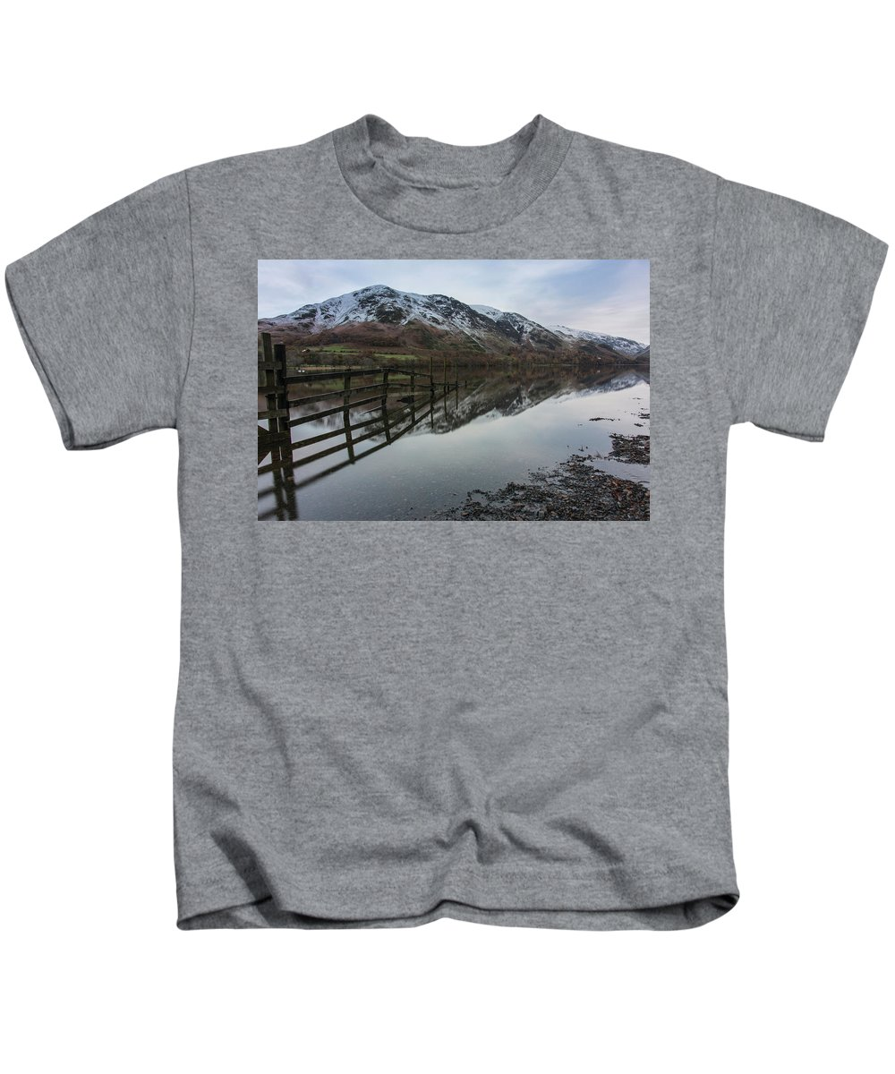 Lake Kids T-Shirt featuring the photograph Mountain Vew by Christopher Carthern