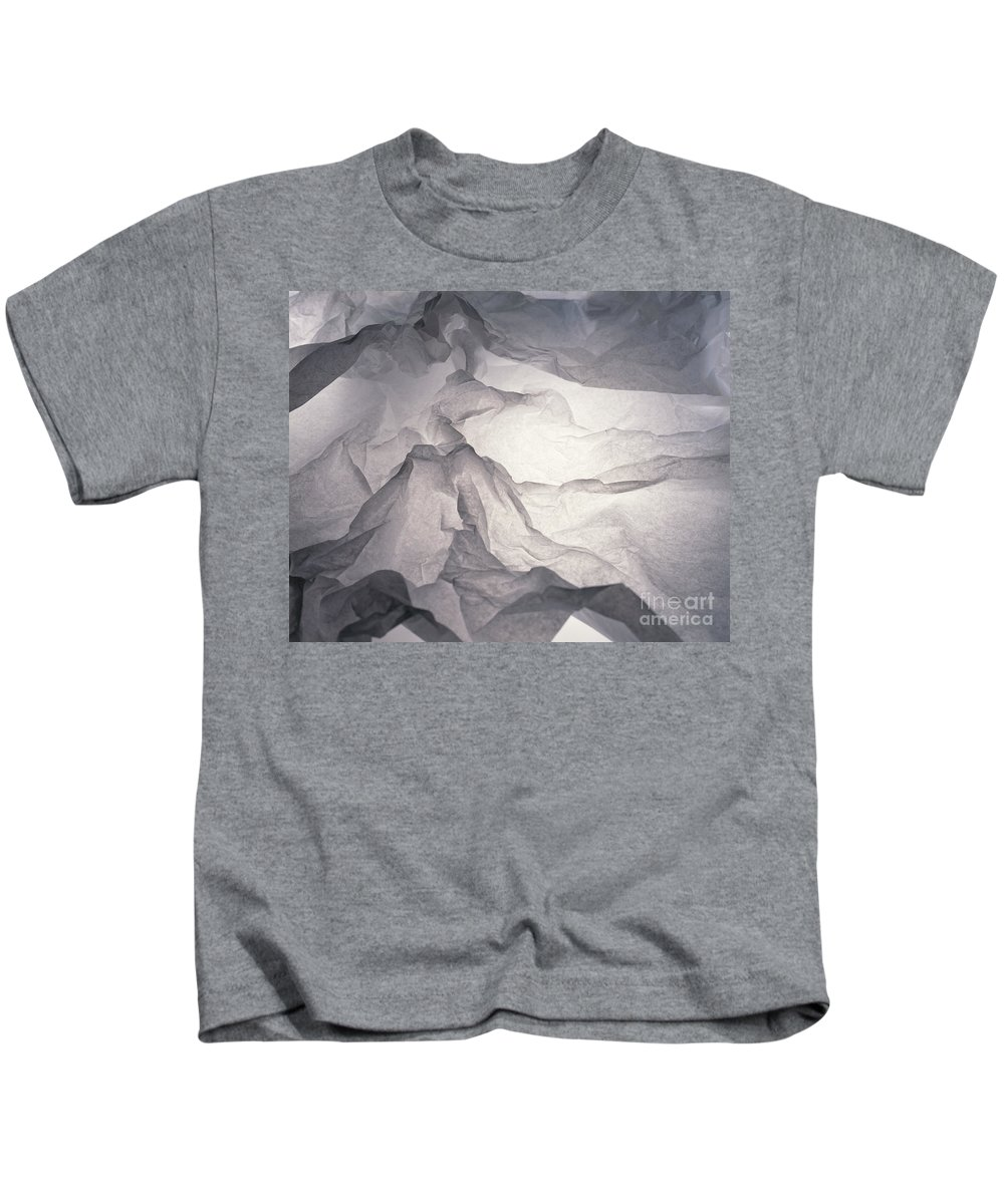 Abstract Kids T-Shirt featuring the photograph Mountains by Stefania Levi