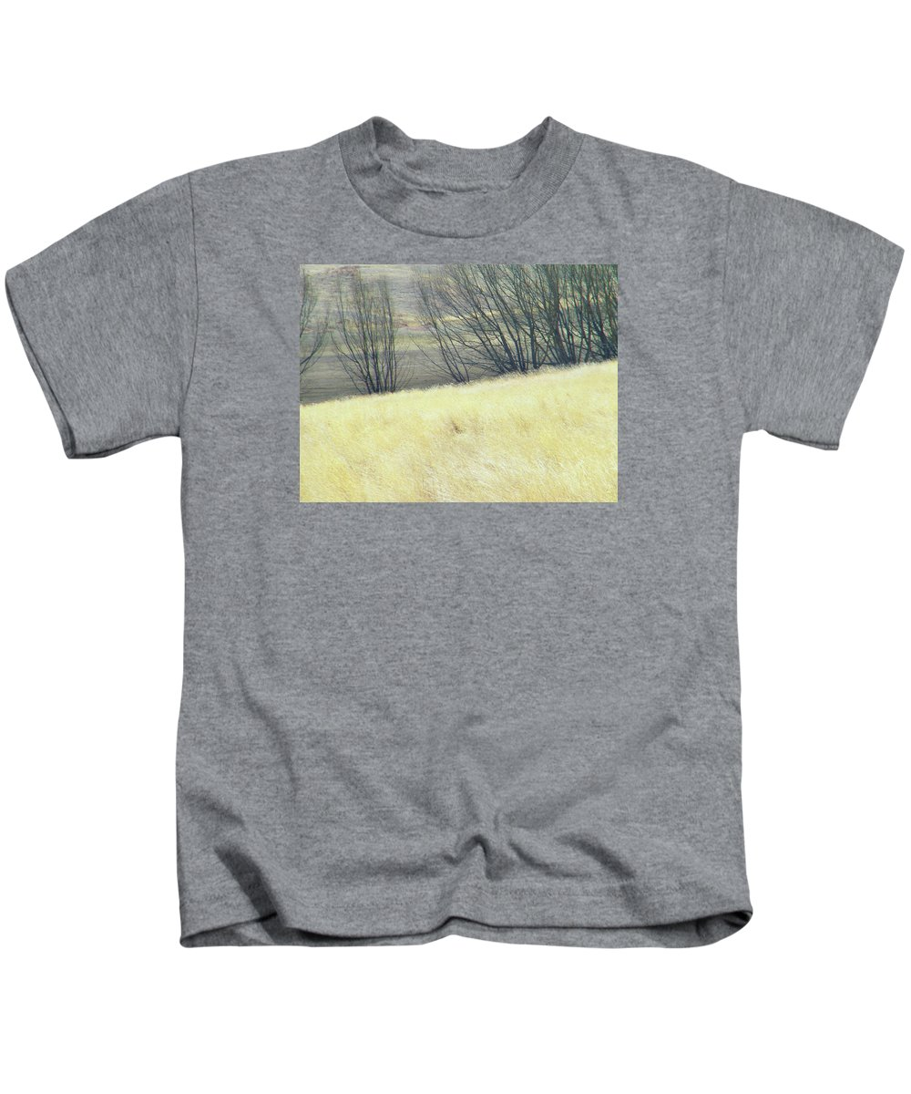 Abstract Kids T-Shirt featuring the photograph Moving On From Virginia Dale by Lenore Senior