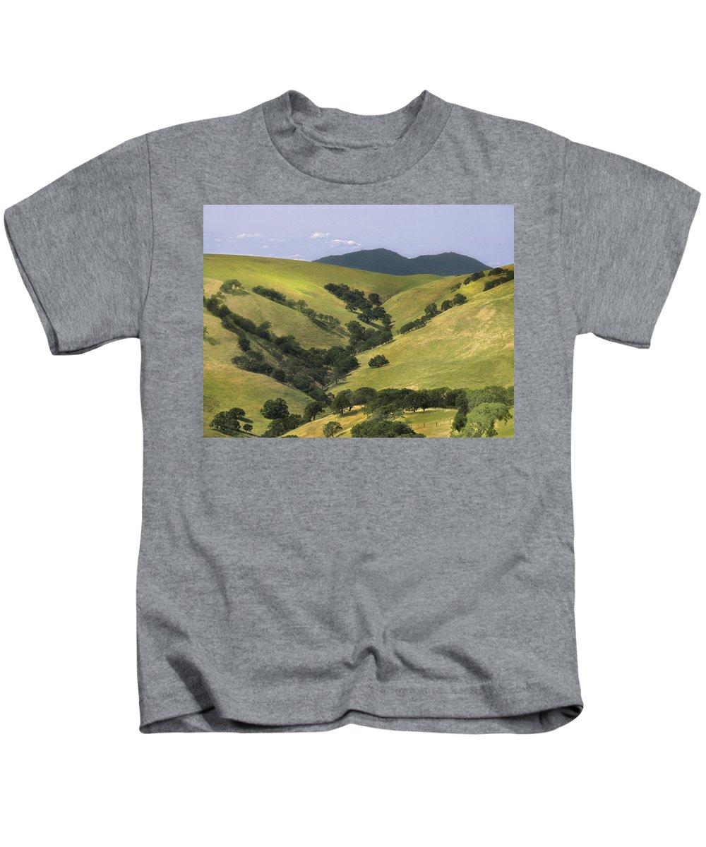 Landscapes Kids T-Shirt featuring the photograph Mt. Dibalo by Karen W Meyer