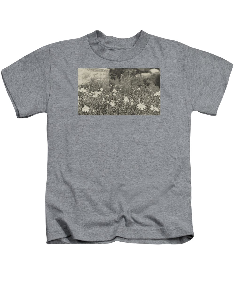 Nature Kids T-Shirt featuring the photograph Muted Beauty 4 by Sarah Jane Thompson