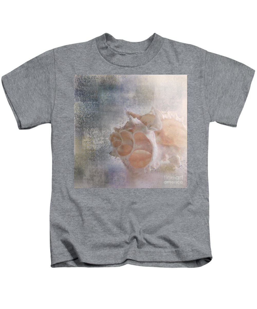 Sea Shell Kids T-Shirt featuring the photograph Mysterious by Betty LaRue