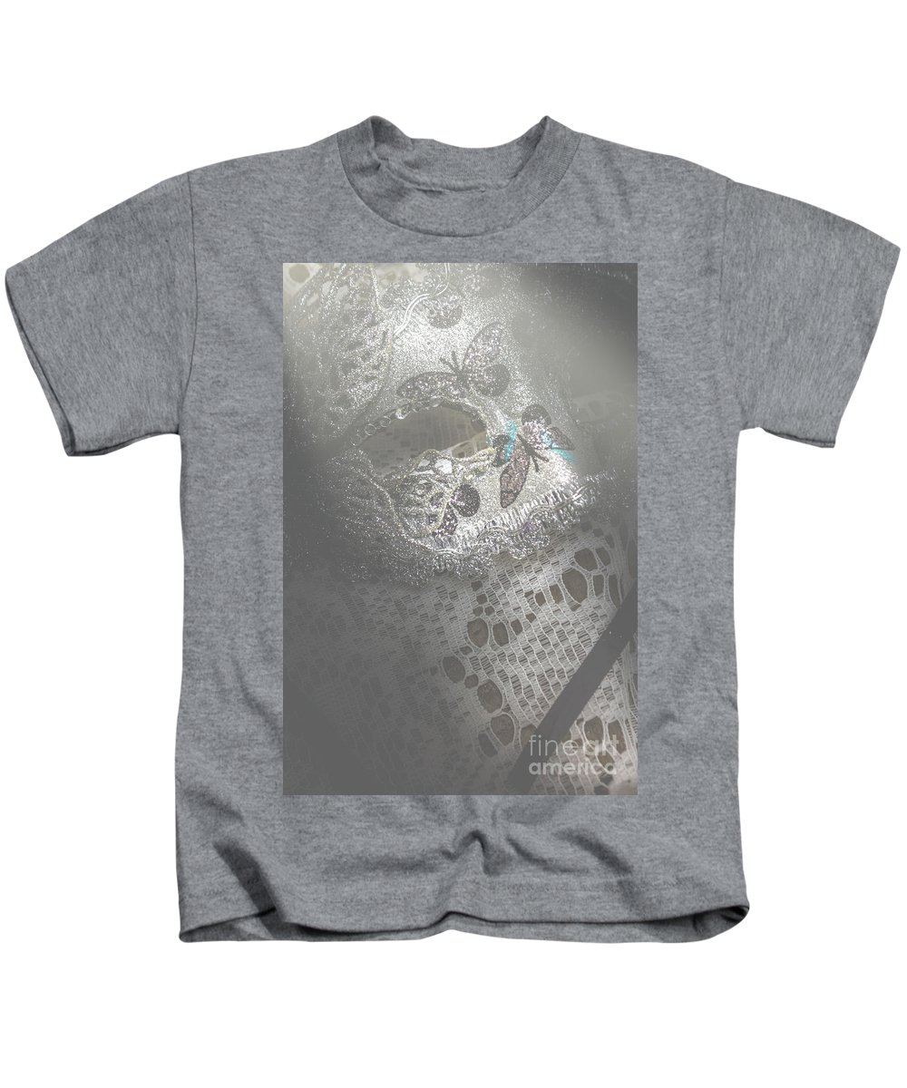 Theater Kids T-Shirt featuring the photograph Mysterious Pantomime Play by Jorgo Photography - Wall Art Gallery