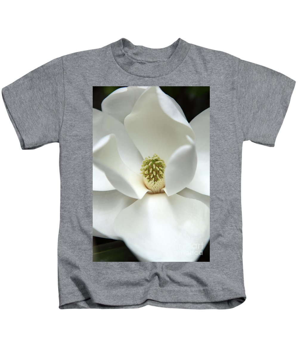 Magnolia Kids T-Shirt featuring the photograph Mysteriously by Amanda Barcon