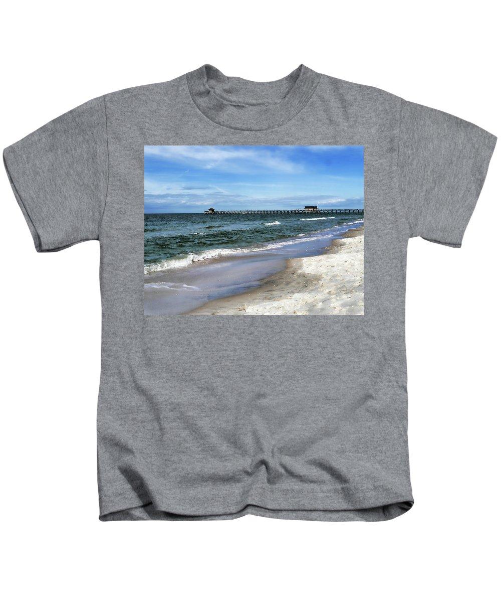 Kids T-Shirt featuring the photograph Naples Florida Xiv by Tina Baxter