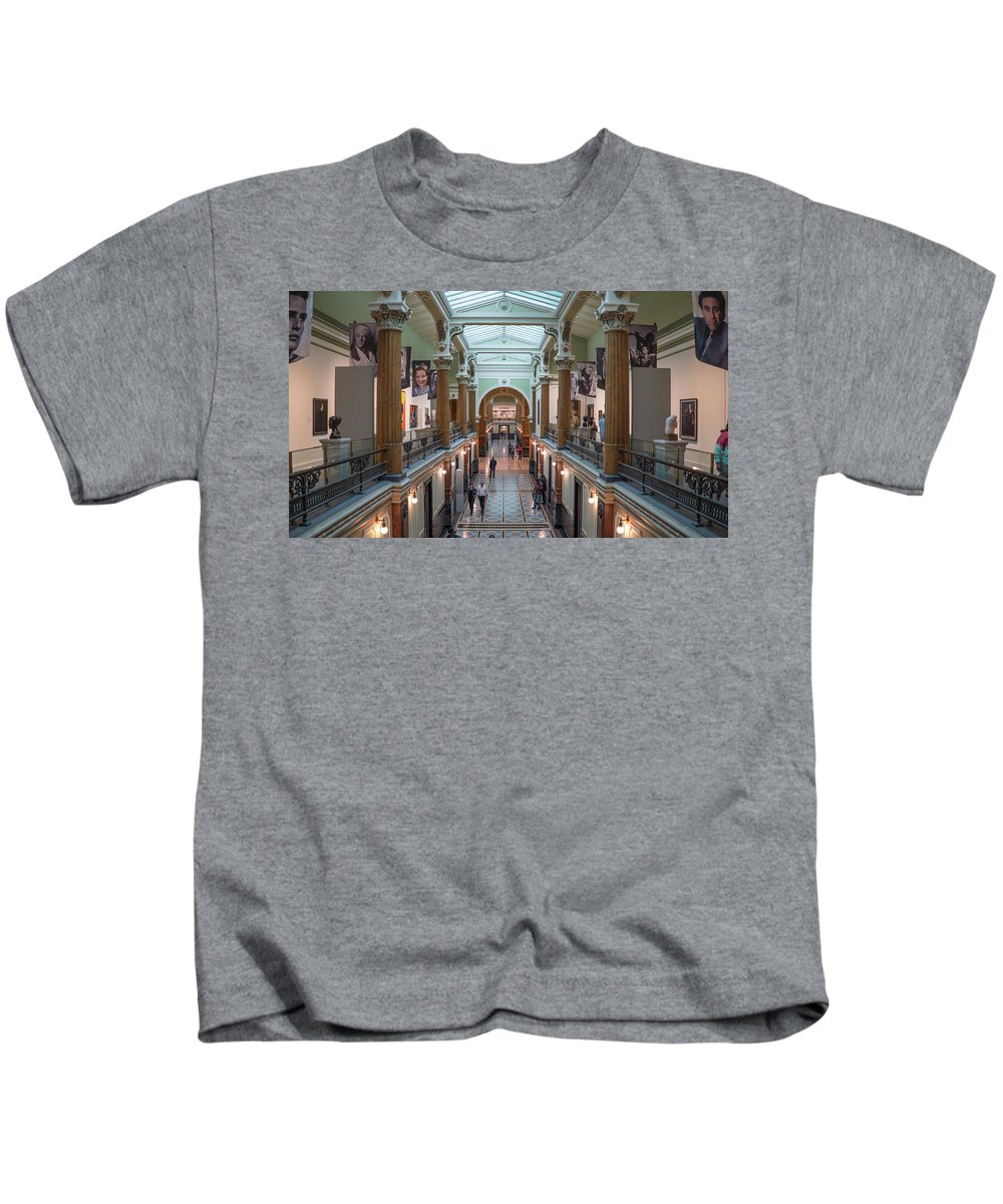 Kids T-Shirt featuring the photograph National Portrait Gallery by Jared Windler