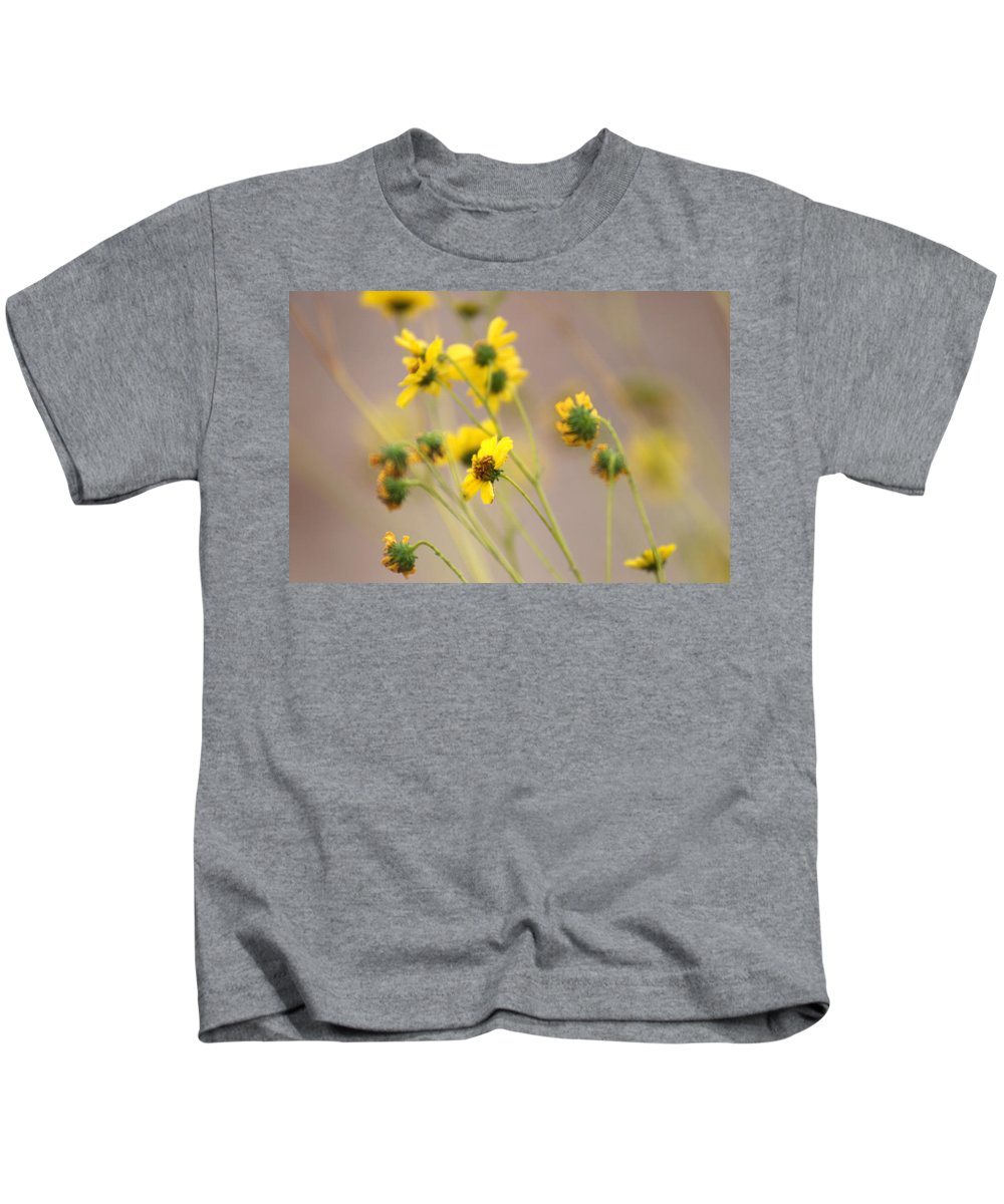 Tarnished Flowers Kids T-Shirt featuring the photograph Natural Flowers by Scott Sawyer