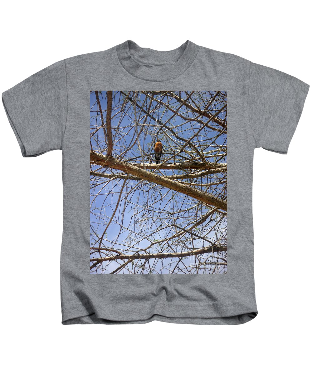 Nature Kids T-Shirt featuring the photograph Nature In The Wild - Annoucing Spring by Lucyna A M Green