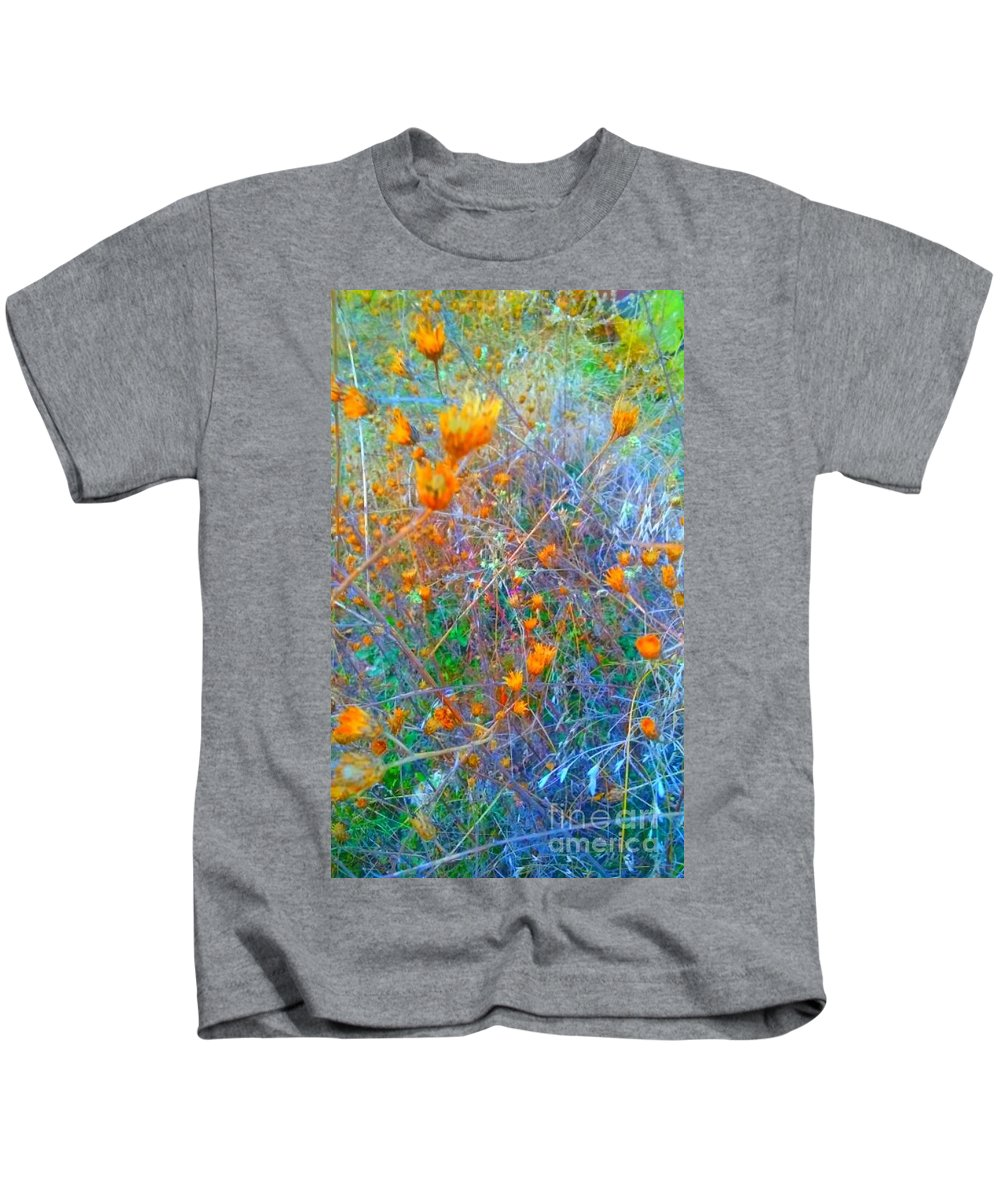 Kids T-Shirt featuring the photograph Nature Surprise by Alexandra Felecan