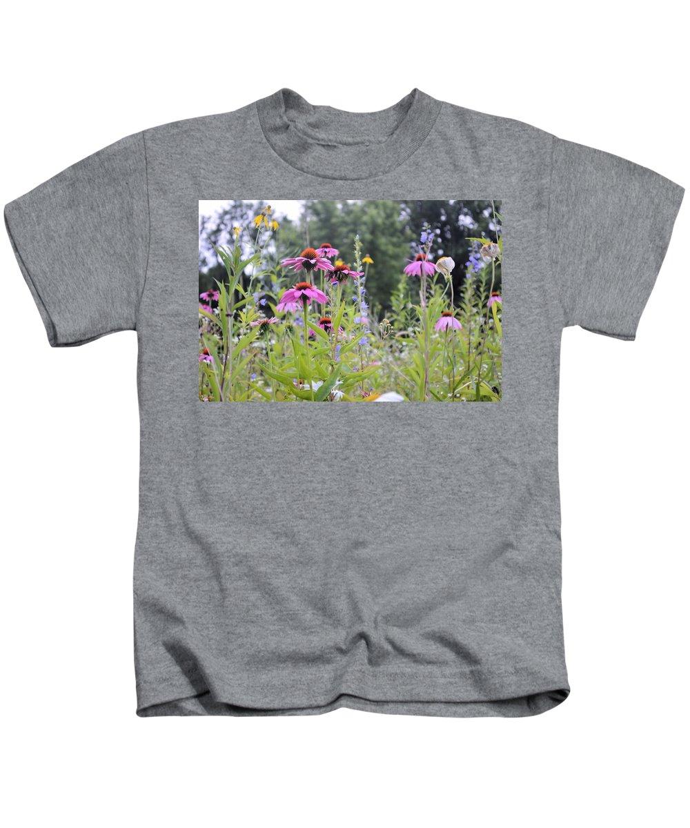 Bouquet Kids T-Shirt featuring the photograph Natures Bouquet by Bonfire Photography