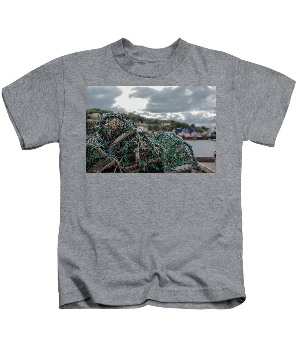 50mm Kids T-Shirt featuring the photograph Net by Anton Lucic