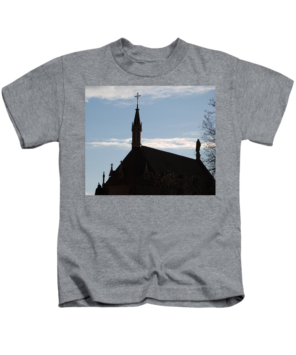 Church Kids T-Shirt featuring the photograph New Mexican Church by Rob Hans