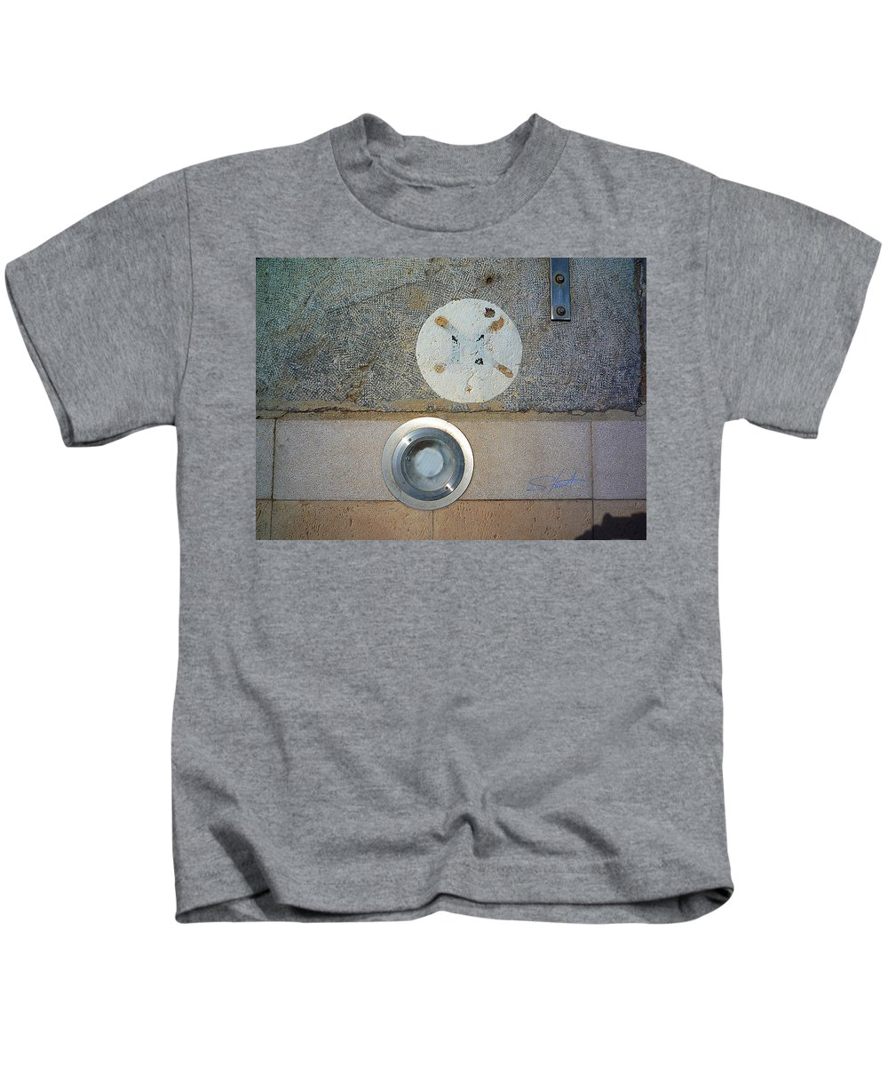 Fishing Net Kids T-Shirt featuring the photograph Not Fourteen by Charles Stuart