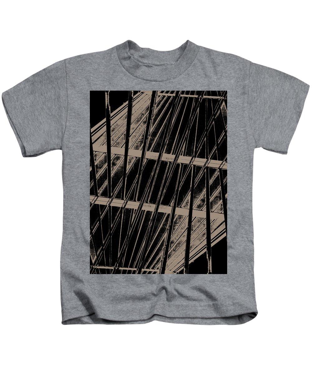 Deep Kids T-Shirt featuring the digital art Oa-1986 by Standa1one