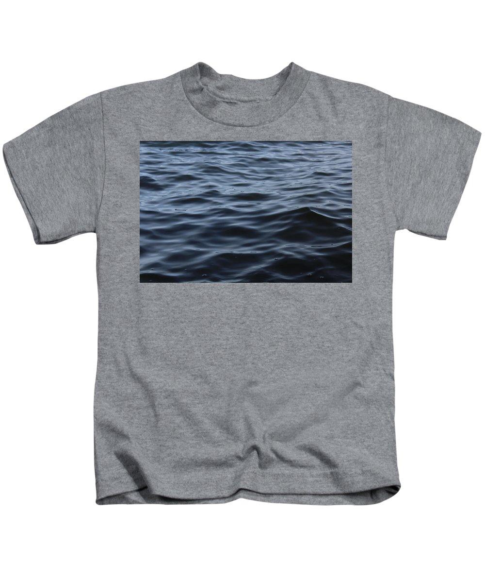 Water Kids T-Shirt featuring the photograph Ocean Water by Hunter Kotlinski