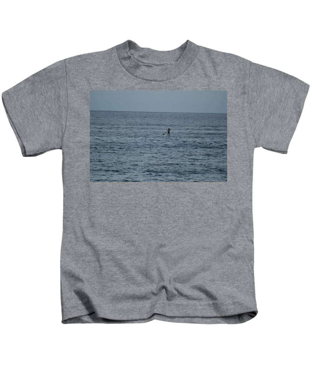 Sea Scape Kids T-Shirt featuring the photograph Old Man In The Sea by Rob Hans