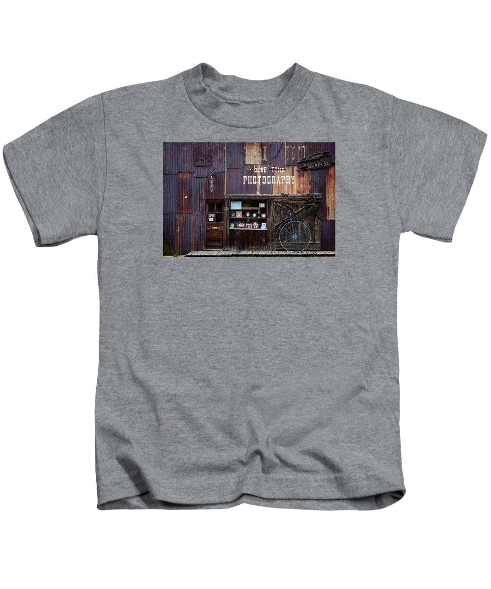 Colorado Kids T-Shirt featuring the photograph Olde Tyme by Dennis Eckel
