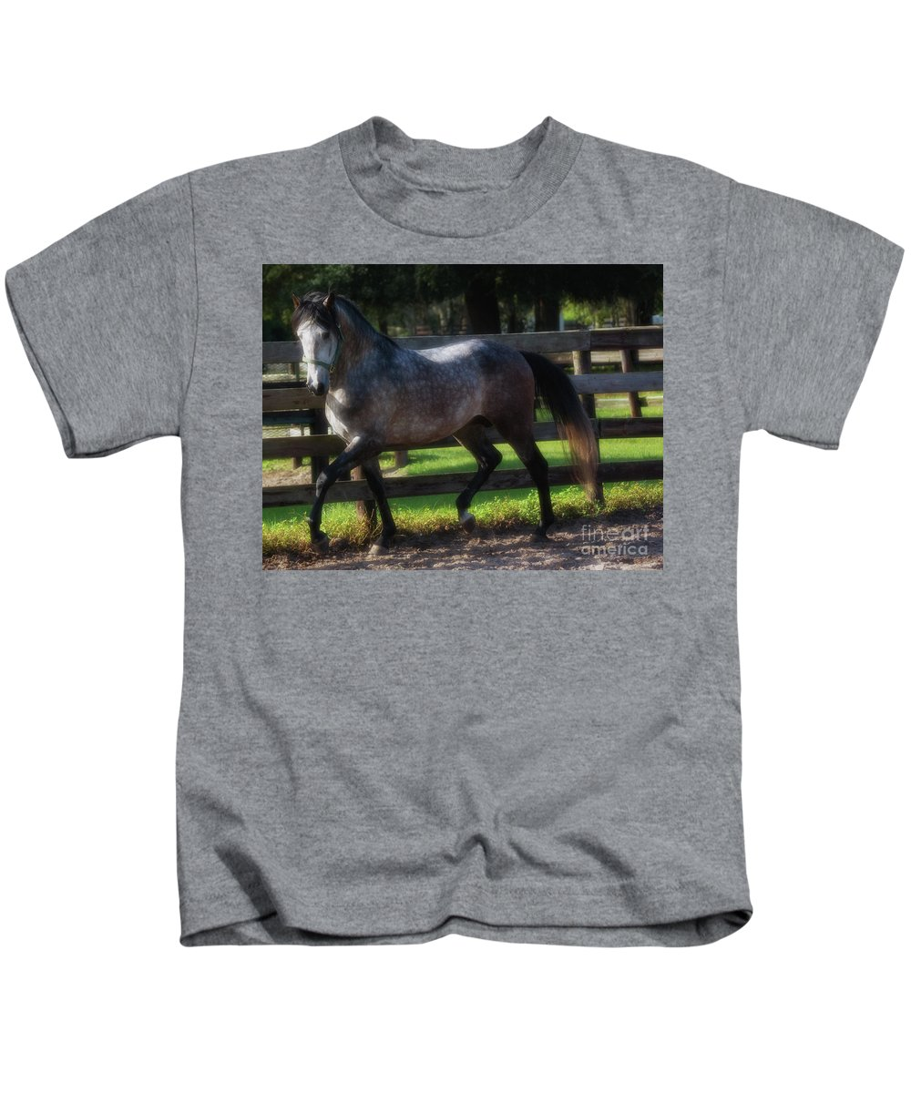 Andalusian Kids T-Shirt featuring the photograph One Of A Kind by Francine Hall