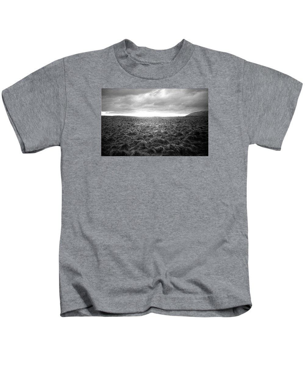 Landscape Kids T-Shirt featuring the photograph Opening by Ted M Tubbs