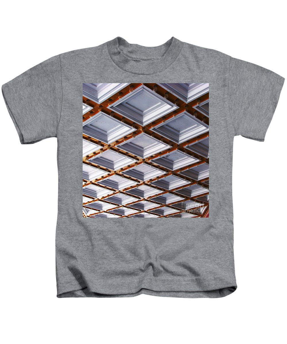 Oprheum Kids T-Shirt featuring the photograph Optical Illusion by Amanda Barcon