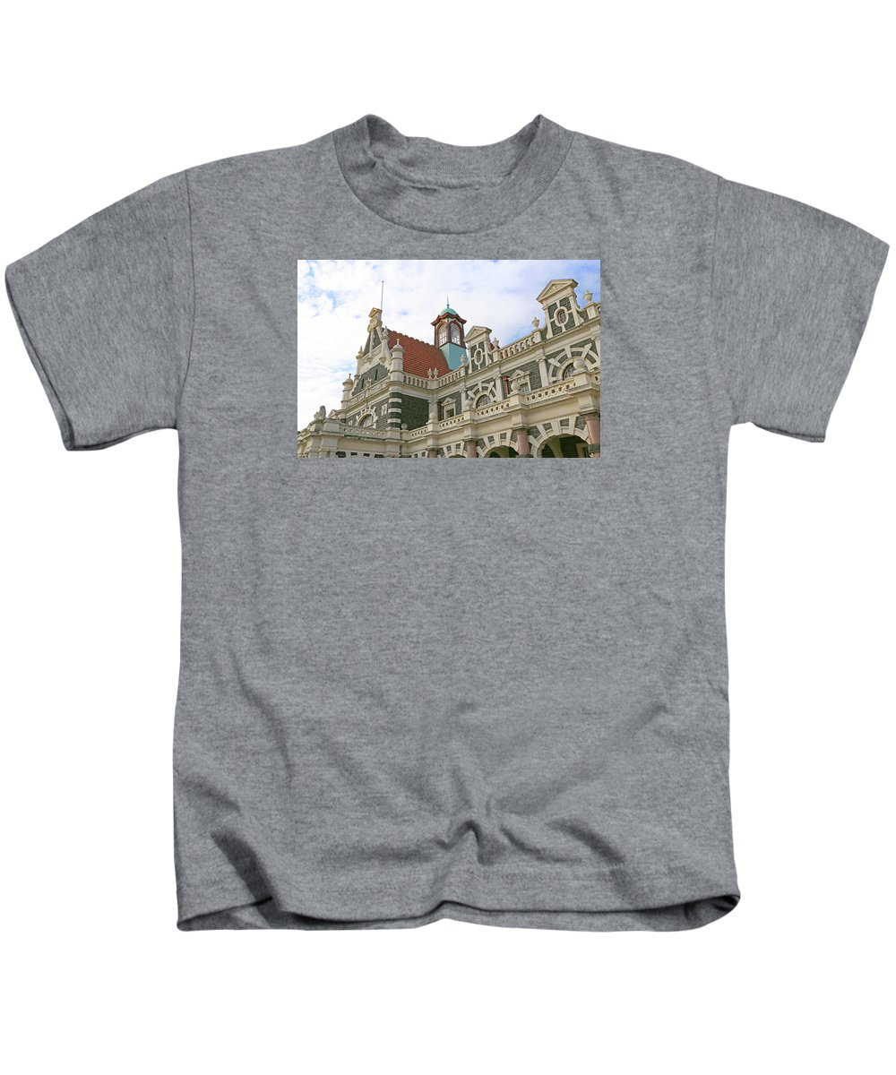 Ornate Kids T-Shirt featuring the photograph Ornate Architecture by Nareeta Martin