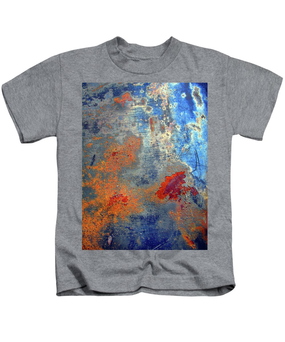 Abstract Kids T-Shirt featuring the photograph Other Worlds by Tara Turner
