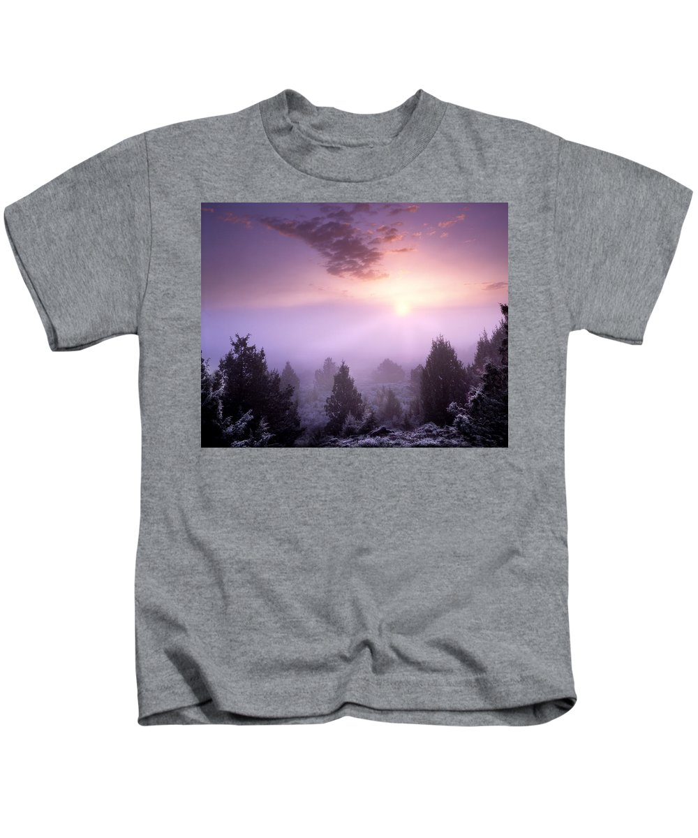 Owhyee Canyonlands Kids T-Shirt featuring the photograph Owhyee Canyonlands by Leland D Howard