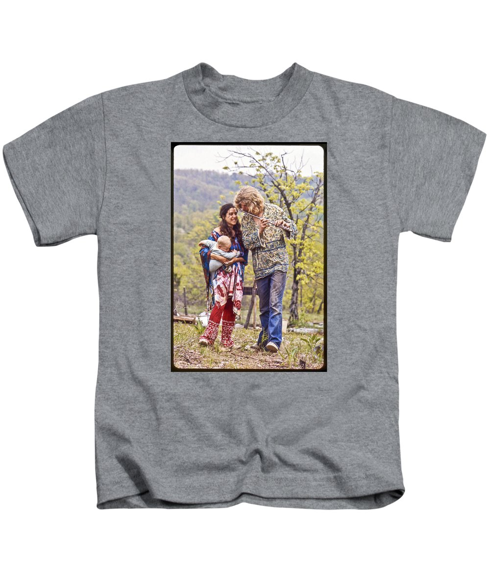 Ozarks Kids T-Shirt featuring the photograph Ozarks Commune by Roy Inman