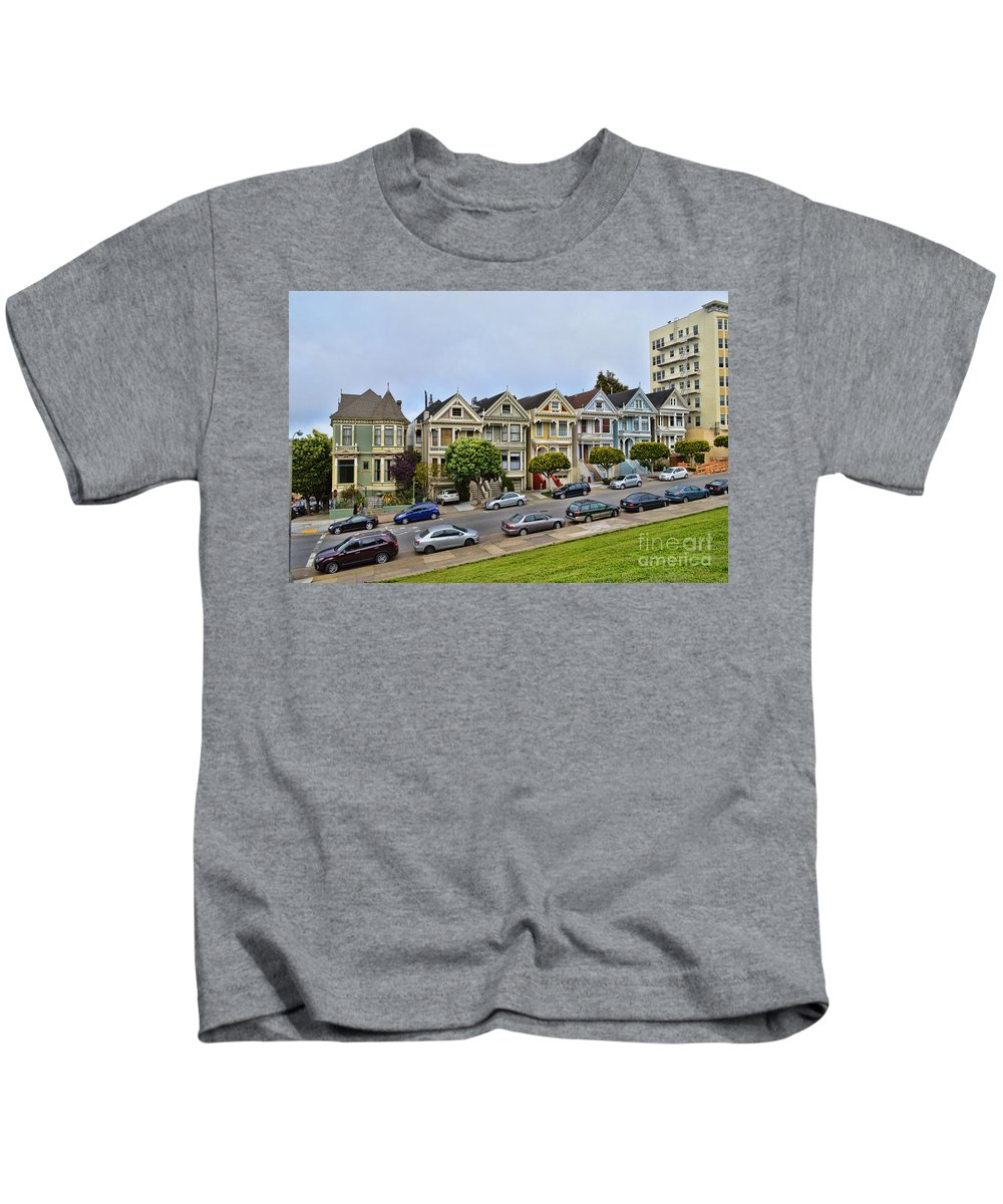 Painted Ladies Kids T-Shirt featuring the photograph Painted Ladies by Tommy Anderson
