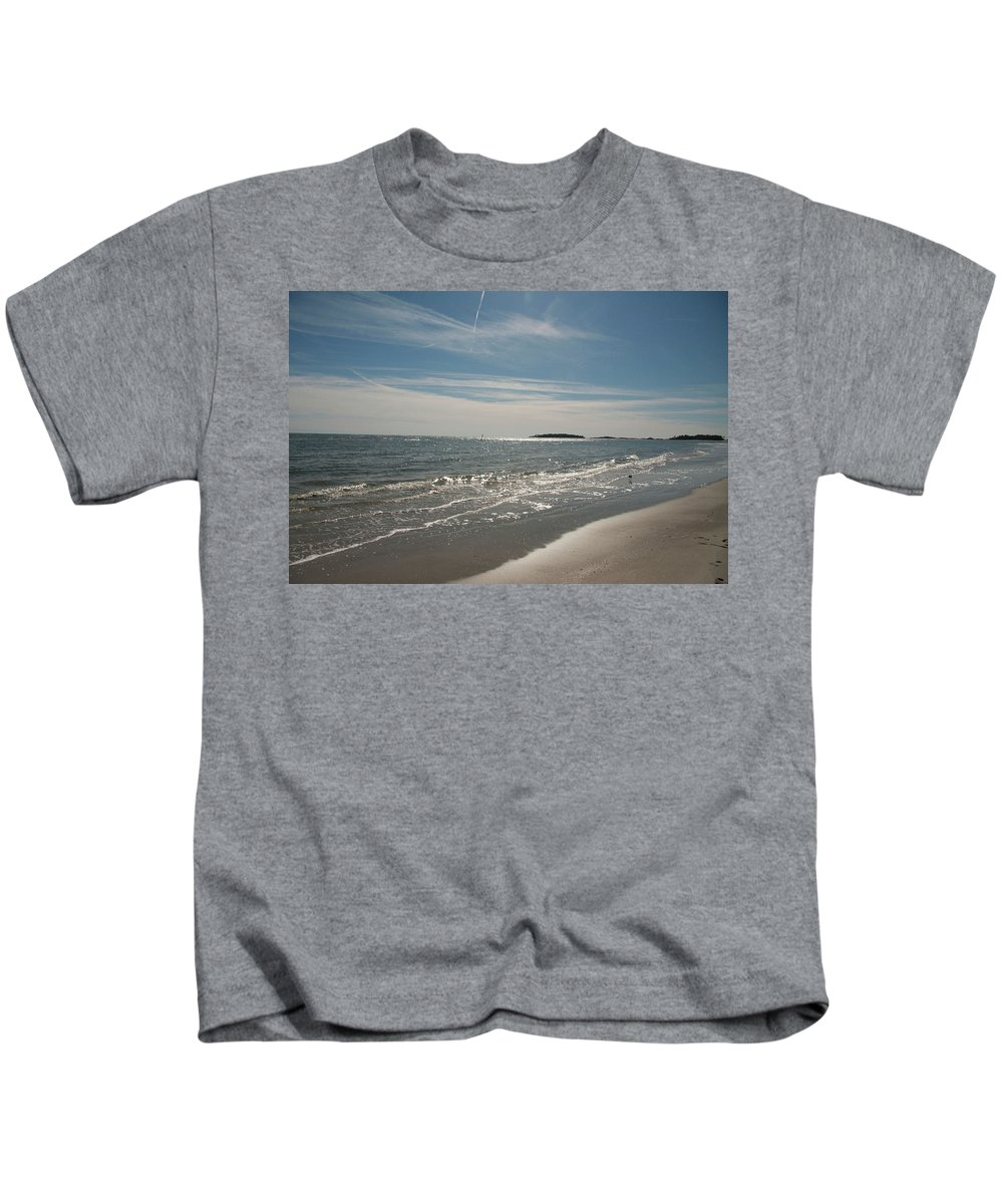 Landscape Kids T-Shirt featuring the photograph Paradise by Deanna Paull