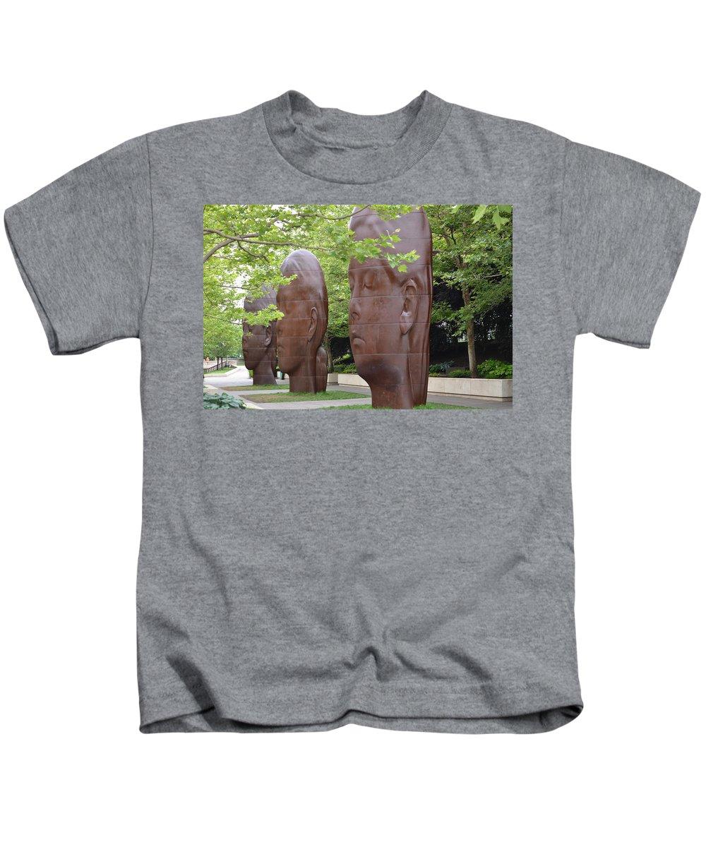Paula Kids T-Shirt featuring the photograph Paula Laura And Inez by Tammy Mutka