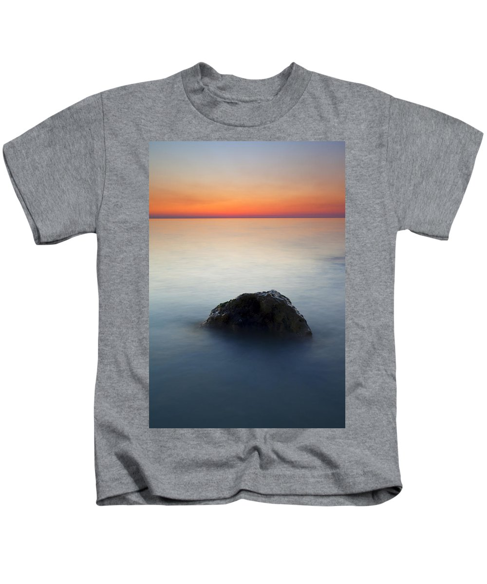 Rock Kids T-Shirt featuring the photograph Peaceful Isolation by Mike Dawson