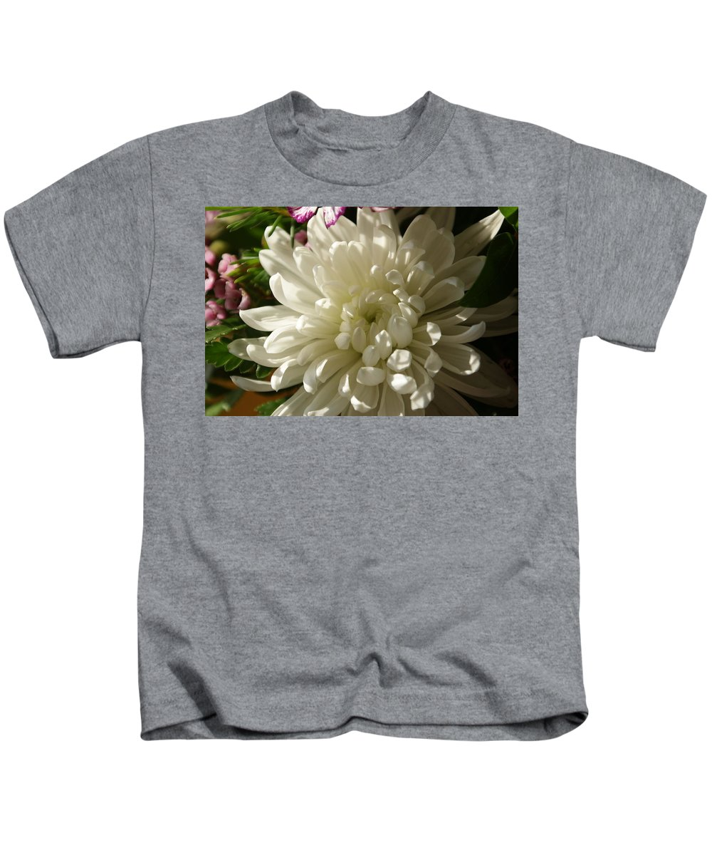 Flower Kids T-Shirt featuring the photograph Petals Profusion by Cricket Hackmann