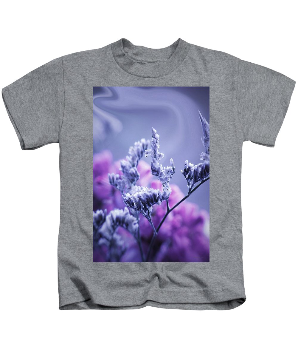 Flowers Kids T-Shirt featuring the photograph Pipe Dreams... by Arthur Miller