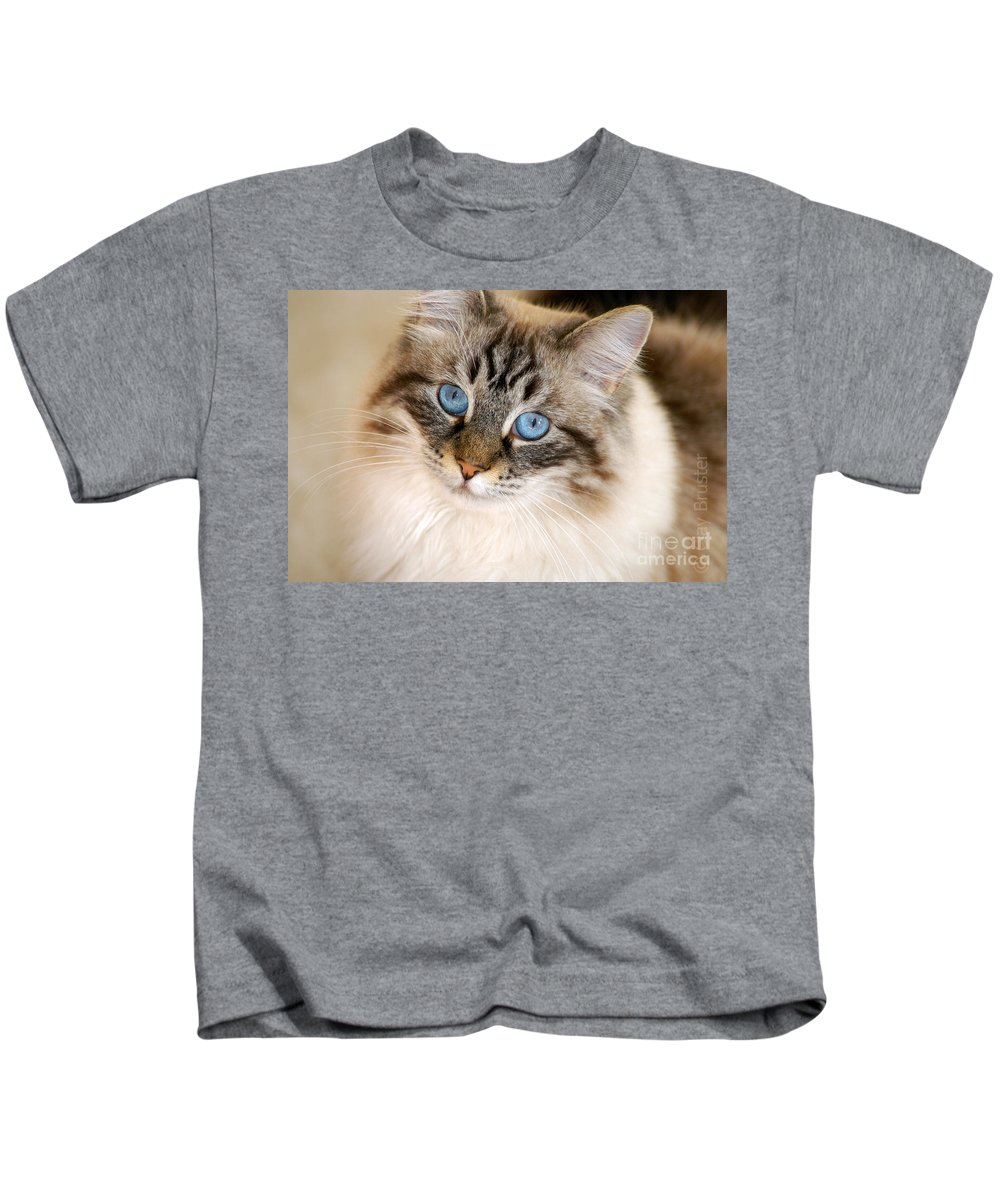 Clay Kids T-Shirt featuring the photograph Polly by Clayton Bruster