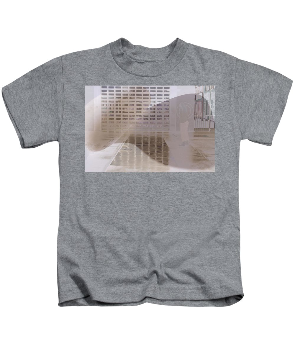 Pondering Kids T-Shirt featuring the photograph Pondering by Kerryn Madsen-Pietsch