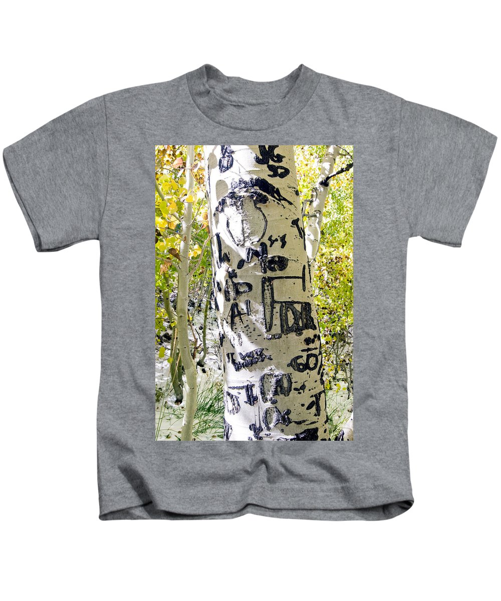 Trees Kids T-Shirt featuring the photograph Presidential Tree by Norman Andrus