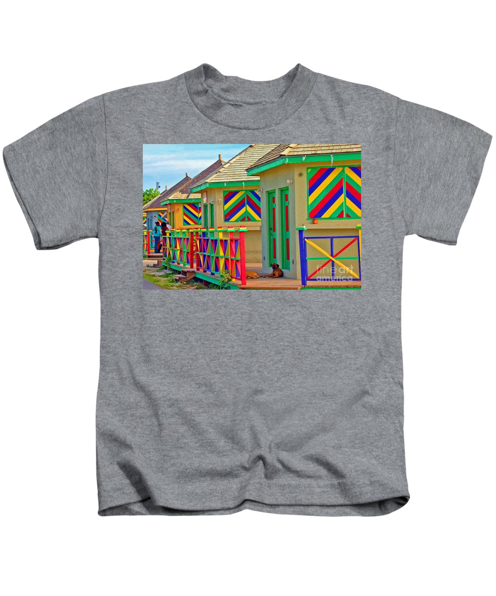 Vivid Kids T-Shirt featuring the photograph Primary Colors by Debbi Granruth