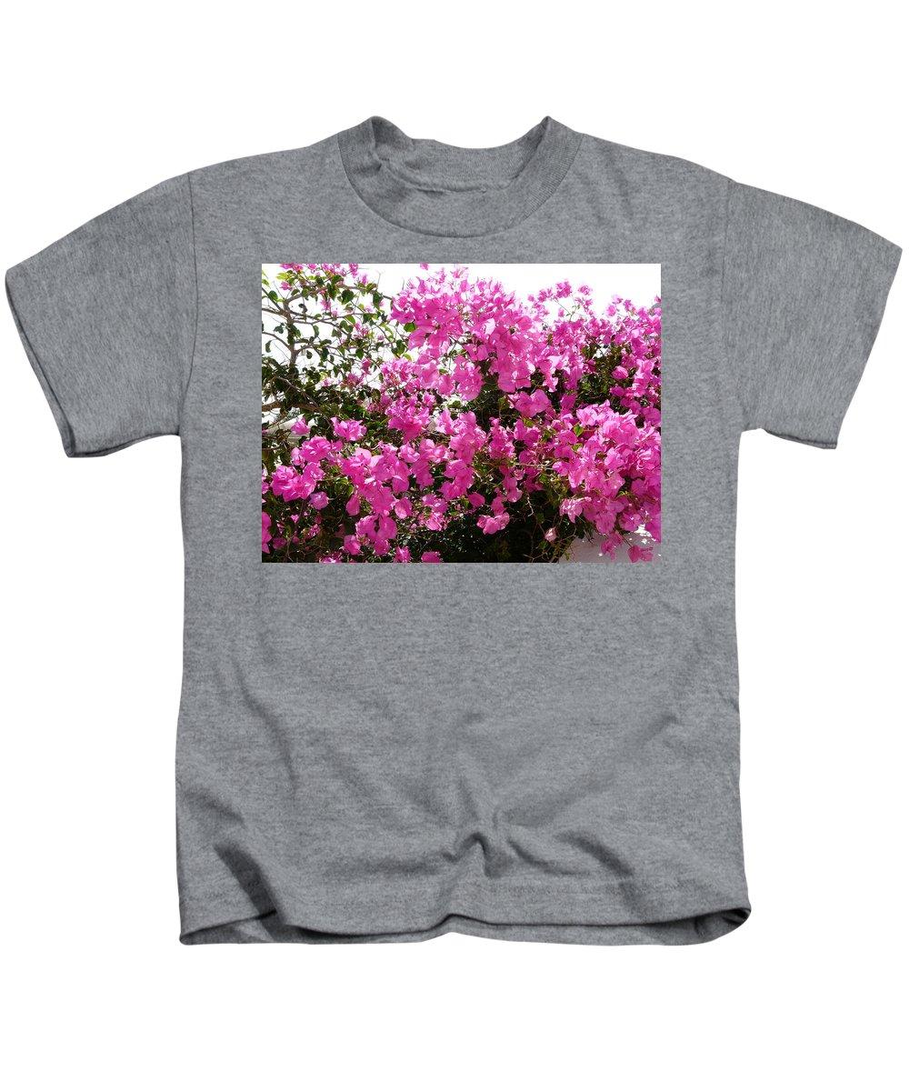 Flower Kids T-Shirt featuring the photograph Purple Abundance by Valerie Ornstein