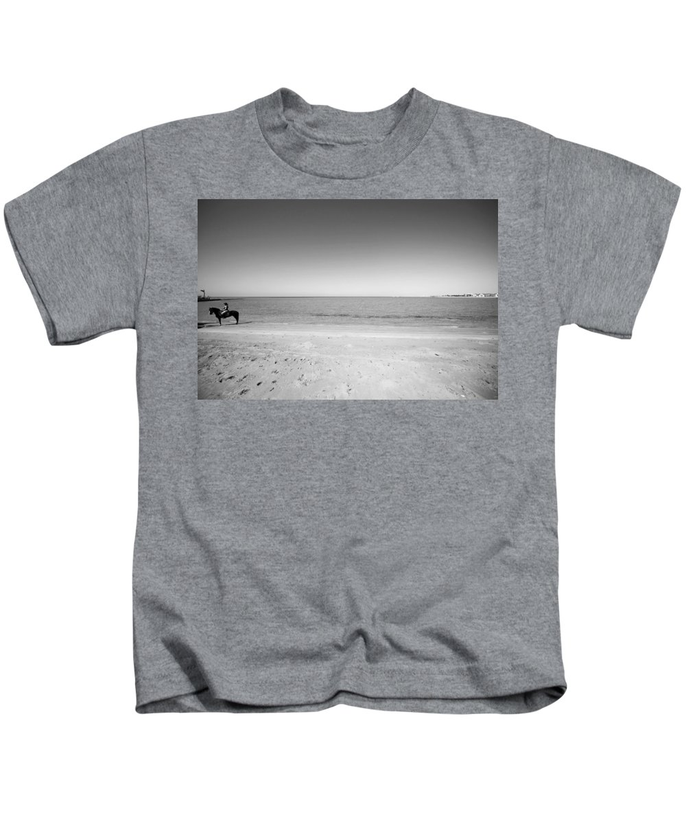 Jezcself Kids T-Shirt featuring the photograph Put It All Behind Me by Jez C Self