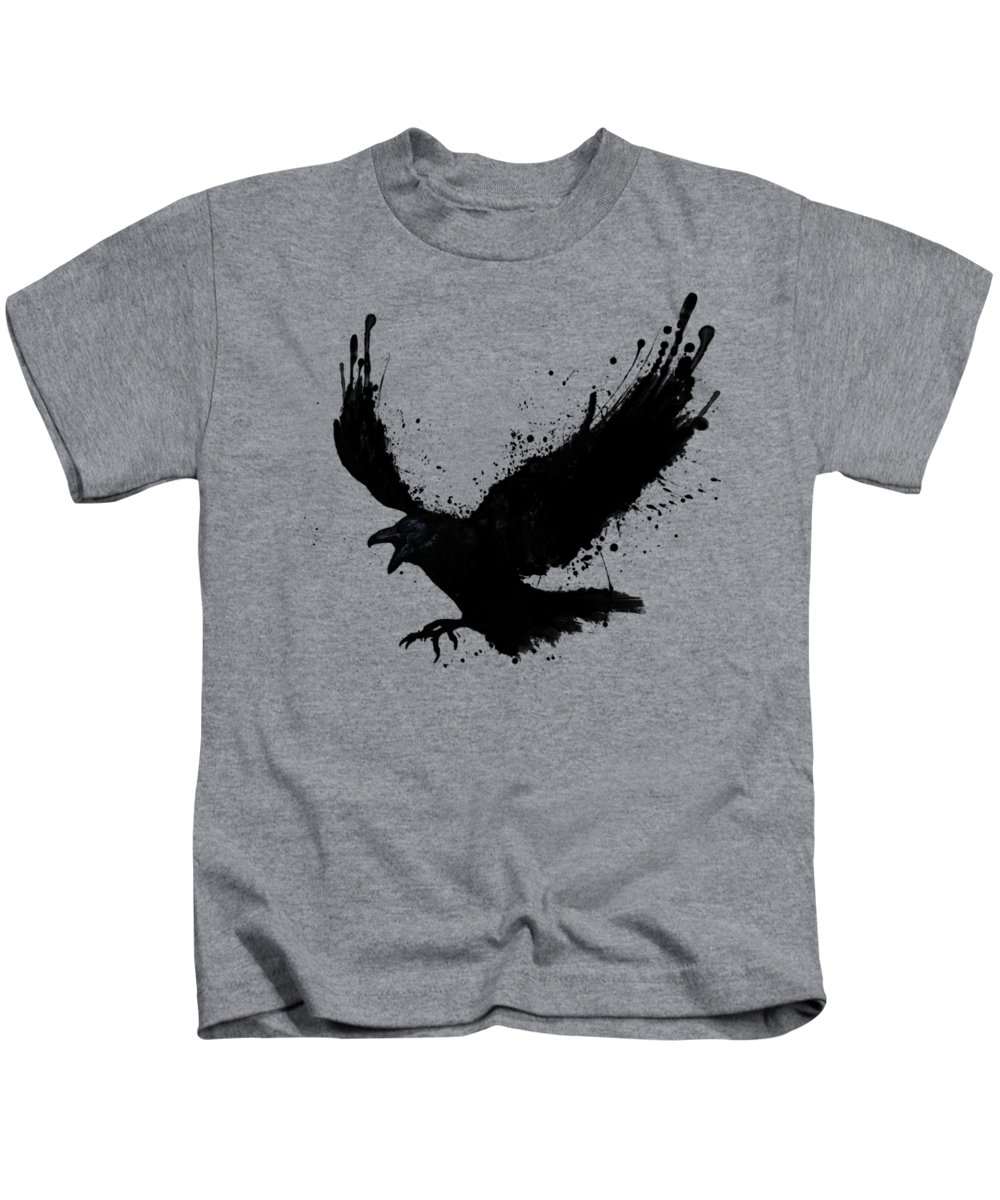 93070add Raven Kids T-Shirt