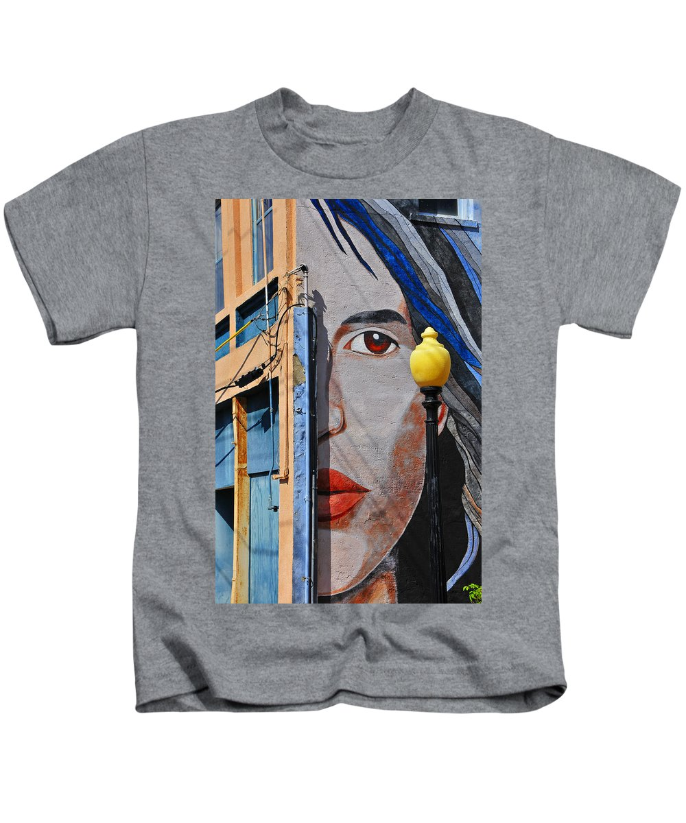 Skip Hunt Kids T-Shirt featuring the photograph Redeye by Skip Hunt