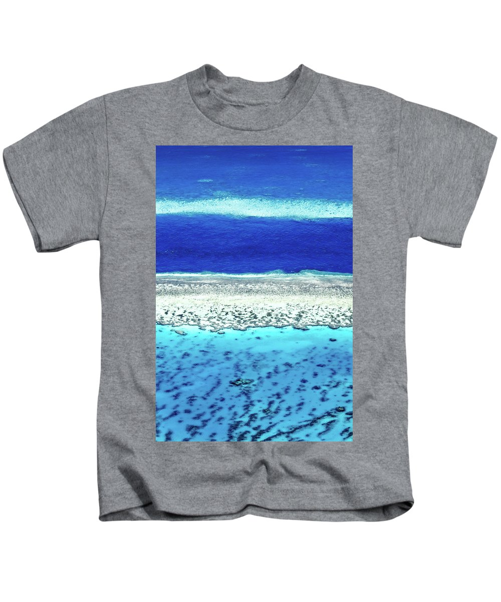 Australia Kids T-Shirt featuring the photograph Reefs Edge by Az Jackson