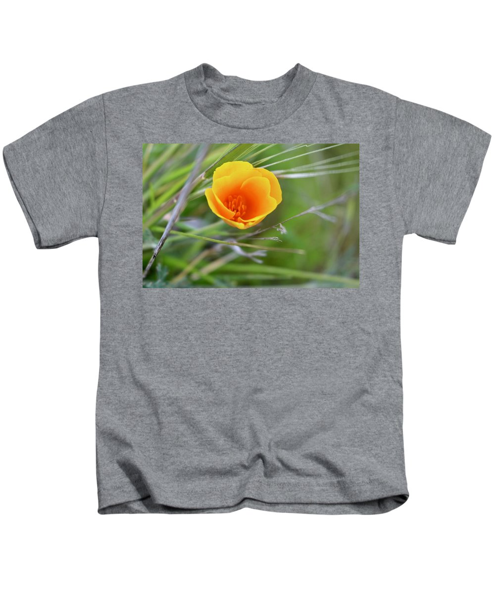 Poppies Kids T-Shirt featuring the photograph Relax by Erin Finnegan
