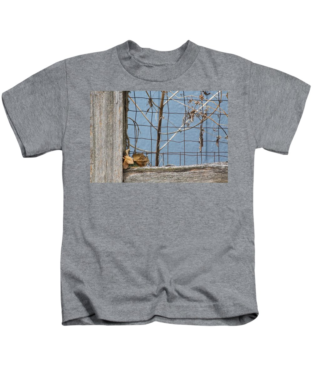 Fall Kids T-Shirt featuring the photograph Remnants Of Fall 2 by Lauri Novak