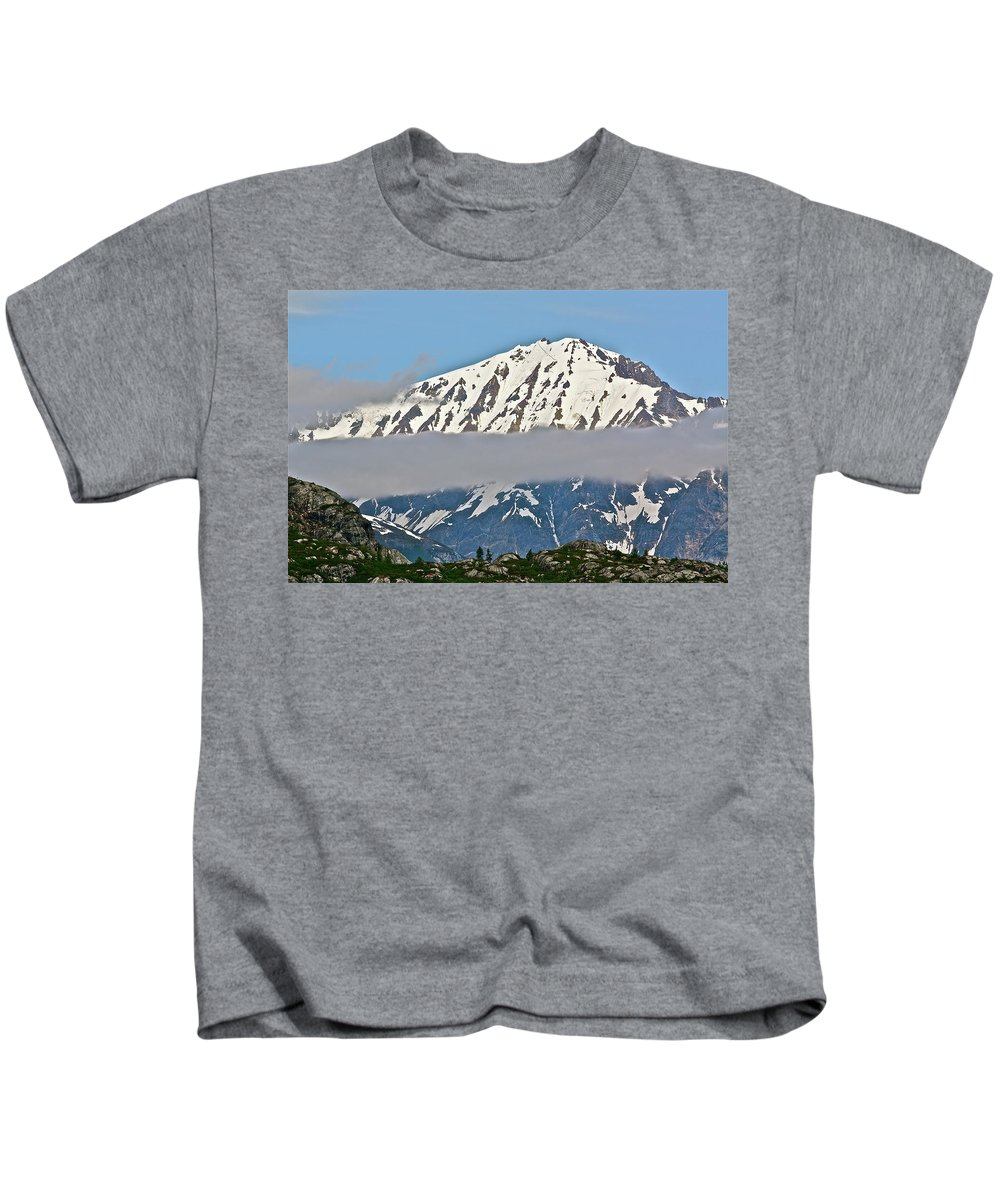 Cloud Kids T-Shirt featuring the photograph Ribbon Of Fog by Diana Hatcher