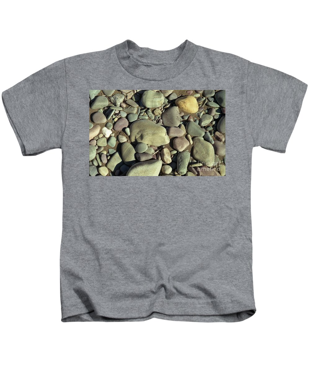 River Rock Kids T-Shirt featuring the photograph River Rock by Richard Rizzo