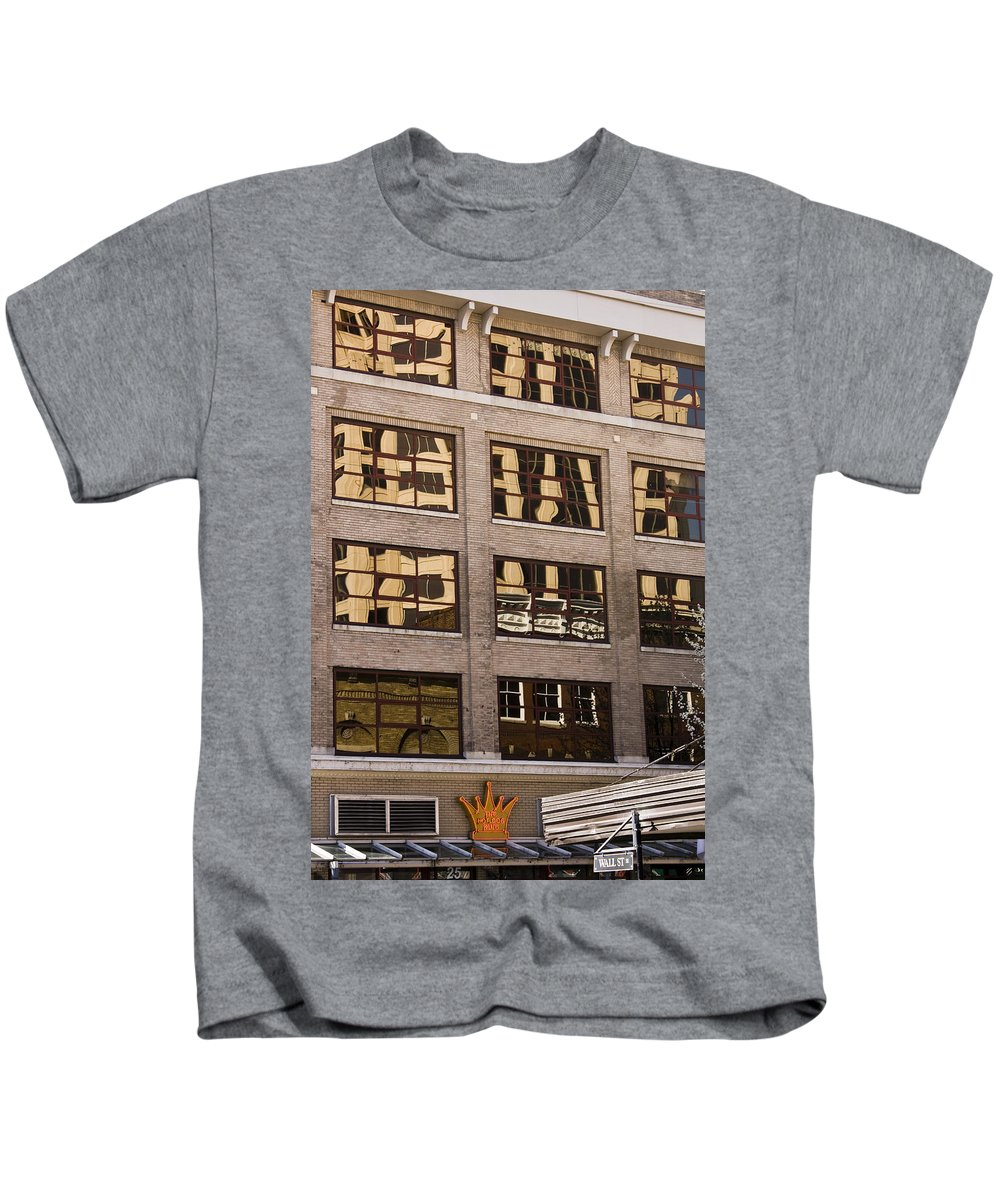 Roanoke Kids T-Shirt featuring the photograph Roanoke Reflection by Teresa Mucha