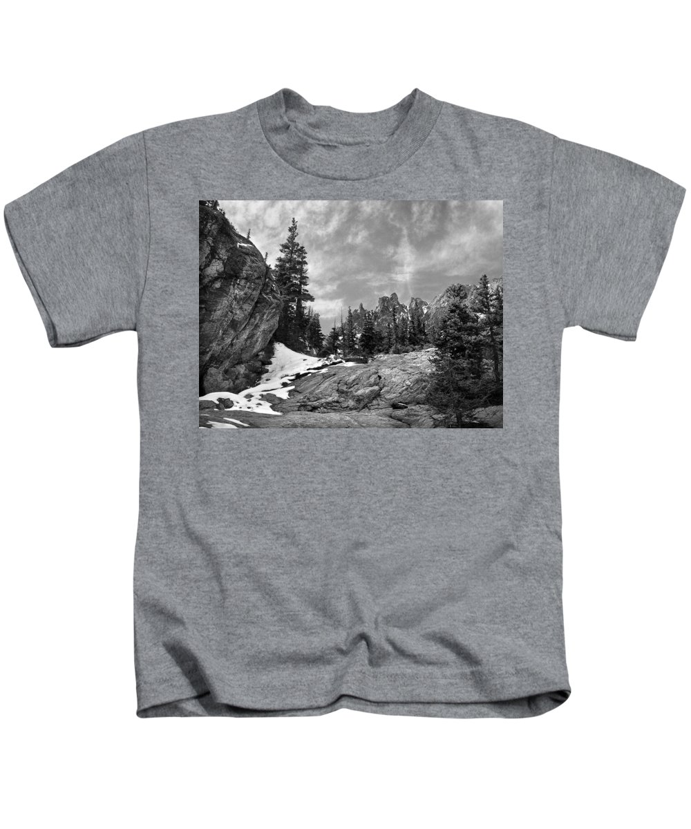 Colorado Kids T-Shirt featuring the photograph Rocky Mountain Beauty by Marilyn Hunt